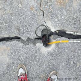 岩石开采替代放炮的破石机