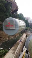 一�w化�A制泵站 埋地式污水提升泵站