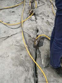 取代挖机破碎石头的设备岩石劈裂棒