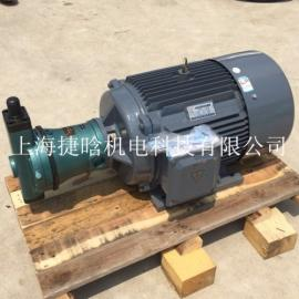 YQB180L-4 22KW内孔轴平键花键油泵电机