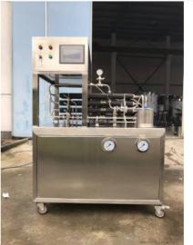 管式超高温瞬时杀菌机,实验型超高温UHT杀菌设备