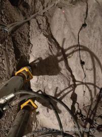 修路石头土石方开采破裂机