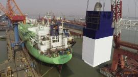 1.4547材质船舶洗涤塔、吸收塔、脱硫设备