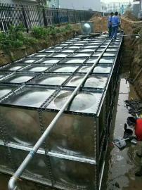 镀锌板消防水箱镀锌板组合式水箱30立方米水箱
