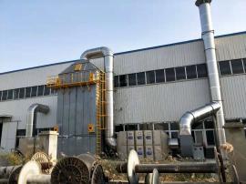 定型机废气处理设备 高压静电装置 自动清洗免维护