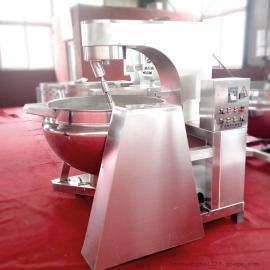 全自动搅拌炒锅 模仿人工翻炒炒菜机可倾搅拌炒菜机