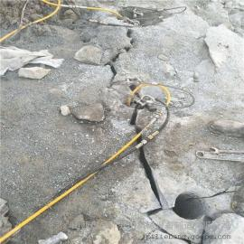 破土石方石头静态的开采设备