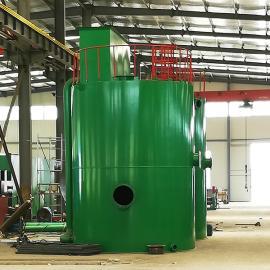 自来水高效全自动净水装置原理 农村饮用水一体化净水器虹吸动画