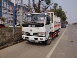 东风4.1氧气瓶 氮气瓶 钢瓶危险品运输车参数配置