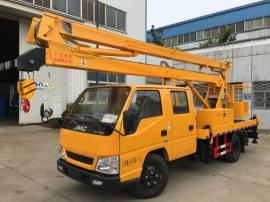 16米高空作业车首选江铃16米折臂高空作业车