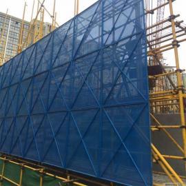 安全围栏网爬架网 防护建筑爬架网 米字型爬架网片规格