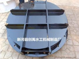 防洪排涝DN500铸铁拍门、DN500玻璃钢拍门
