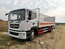 东风国五气瓶 氢气瓶 钢瓶危险品运输车厂家参数配置