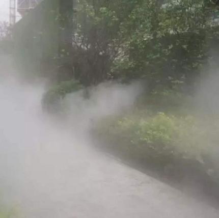 园林人造雾造景喷雾系统