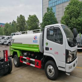 东风多利卡国六5吨洒水车,国六五吨洒水车配置图片参数办事处