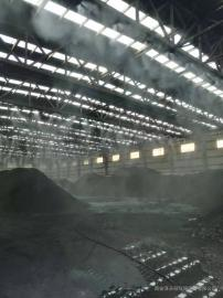 煤厂环保喷淋除尘设计方案 煤场大棚喷雾降尘安装