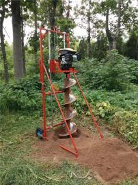 野外水泥杆打坑机用于通信立杆埋桩柱