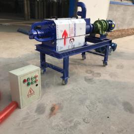 热销养殖场专用小型干湿固液分离机 不锈钢粪便脱水机