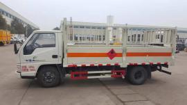 小型钢瓶运输车易燃气体厢式车参数配置