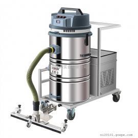 煤粉灰工业吸尘器仓储式地板地面吸尘器 移动式充电吸尘机