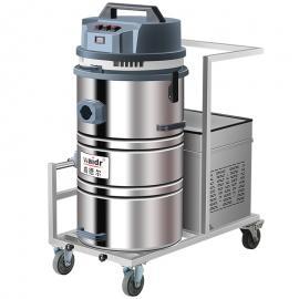 移动式充电吸尘器 车间用电瓶吸尘器吸铁屑焊渣用工业吸尘器
