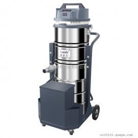 金属制品加工厂用威德尔100L锂电池工�I吸�m器移动式大吸力吸尘