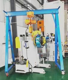 车间模具专用龙门架 移动式电动葫芦龙门架利欣定制