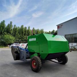 小型玉米秸秆打捆机 粉碎回收打捆机 打捆机全国发货