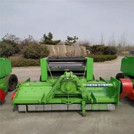 饲料秸秆捡拾打捆机 打捆机小型拖拉机 收割打捆一体机