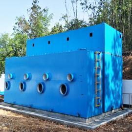 全自动一体化净水设备工作原理 一体化生活饮用水净化设备图纸