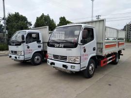 东风多利卡易燃气体危险品运输车