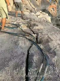 采矿场坚硬岩石开采破石头方法