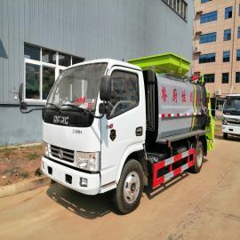 东风国六小多利卡5方6方餐厨垃圾车,东风国六餐厨垃圾车销售处