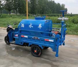 电动三轮洒水车 环保除尘降尘喷水车 移动雾炮车三轮雾炮车