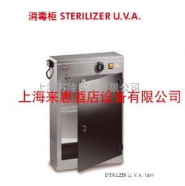 意大利Sirman 舒文 Sterilizer U.V.A 16W进口刀具消毒柜 15把刀