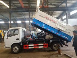 拉5吨5方污泥运输车,厢体环保密封无液漏运输污泥