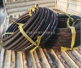 疏通车管道清洗机橡胶管钢丝编织耐高压出水管子