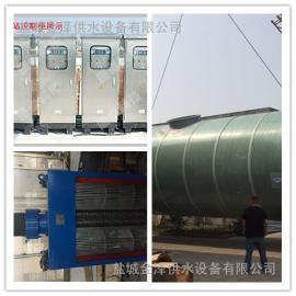 一体化预制泵站市政污水处理工程