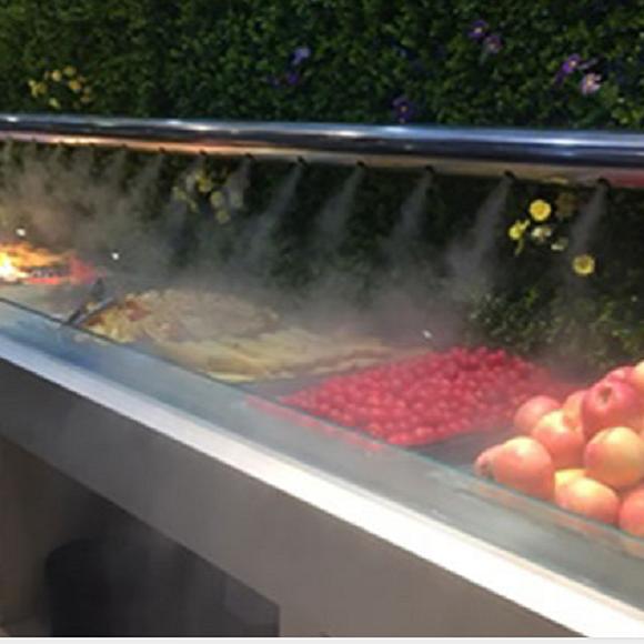 火锅店商超水果蔬菜高压冷雾保鲜机