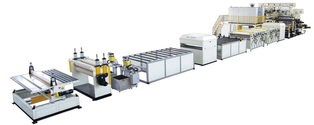 EVA/POE/TPO汽车隔音垫生产线