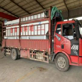 饲料运输罐车 饲料场 养殖场专用饲料运输罐车