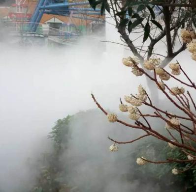 高档园林人造雾水喷雾造景景观设备