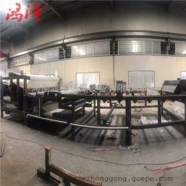 鸿泽全自动加长型带式压滤机报价 污泥浓缩脱水机节能型