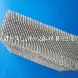 双层丝网波纹填料不锈钢丝网波纹填料的结构特点