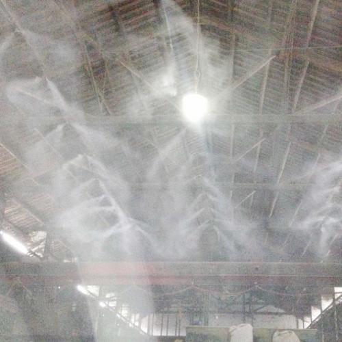 砂石料厂雾森喷雾降尘系统