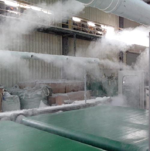 纺织厂除静电降尘水喷雾高压系统