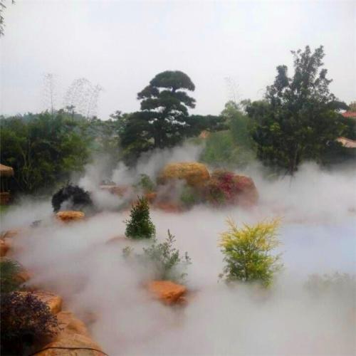 人工湖湿地造雾喷雾造景景观设备