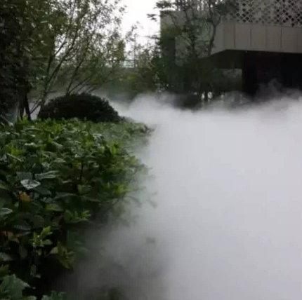 园林人造雾高压喷雾造景景观装置