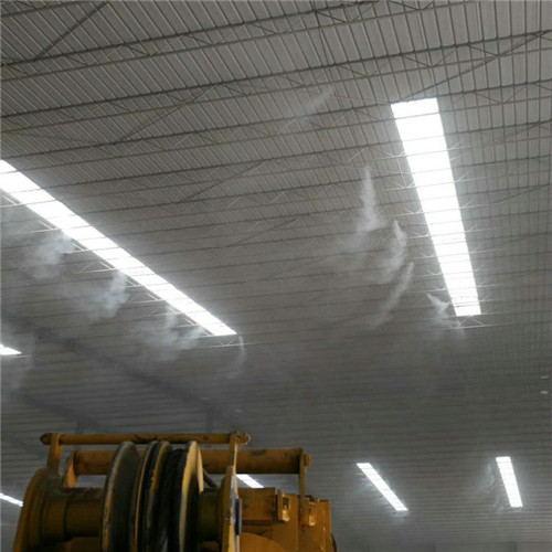 制砖厂雾森高压喷雾降尘设备