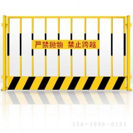 晟护基坑防护网@基坑临边防护网高度@深基坑临边防护栏规格 用途